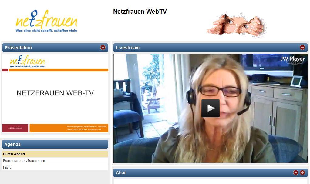 Netzfrauen_WebTV_Bild_aufzeichnung